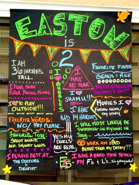 diy chalkboard milestone 87 best images about s 1st birthday on