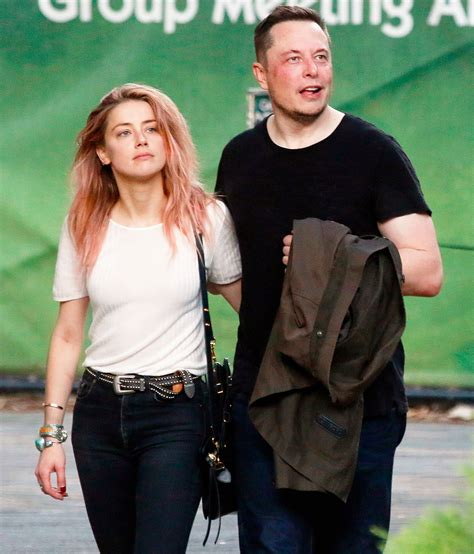 elon musk date of birth amber heard and elon musk address their amicable split