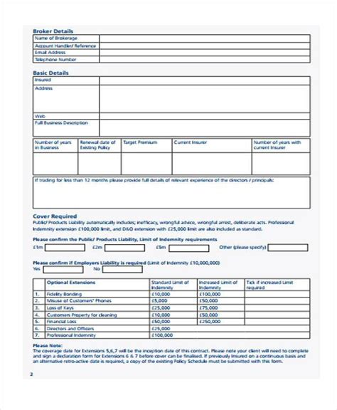 best 28 word official contract request form free