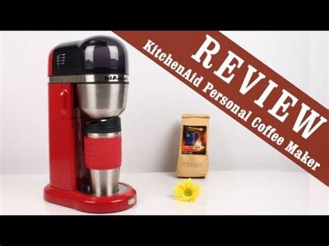 Review: KitchenAid Personal (drip) Coffee Maker   YouTube