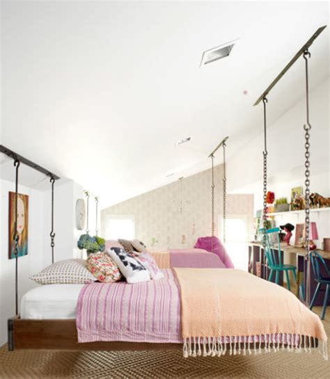 hanging beds for bedrooms 7 awesome attic transformations decorating your small space