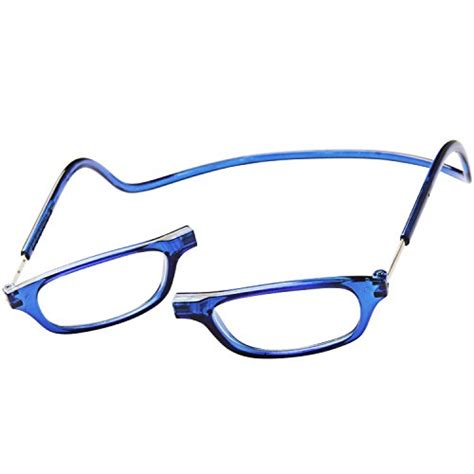 clic magnetic reading glasses in blue 2 00 in the uae