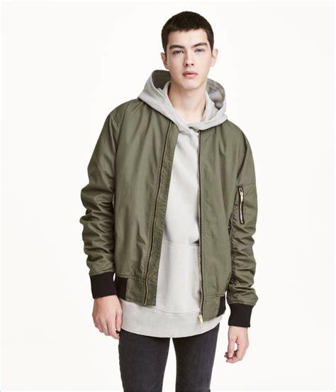 Jaket Bomber H M h m s bomber jacket