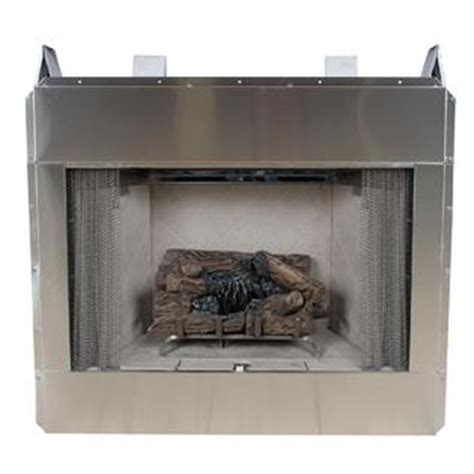comfort flame fireplace comfort flame 36 quot stainless steel outdoor vent free