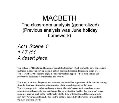 thesis on macbeth writing a literary essay we write high quality homework