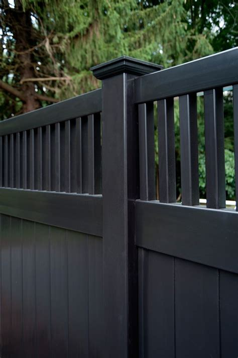 grand illusions vinyl woodbond wood grain vinyl fence a collection of ideas to try about home
