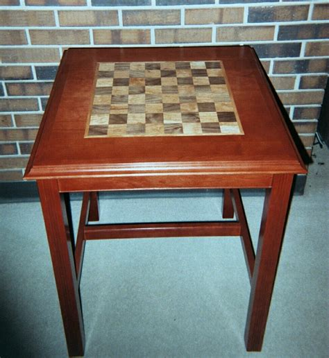 Board Tables by Chess Board Table
