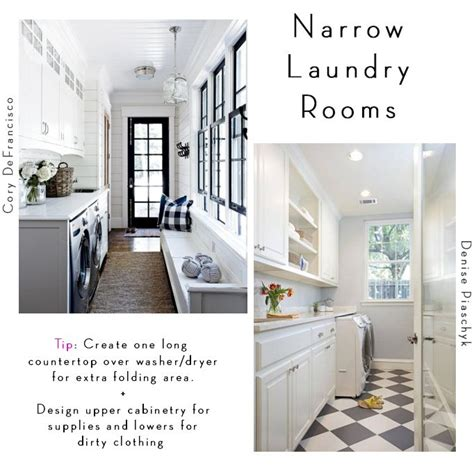 how to decorate laundry room 25 best ideas about narrow laundry rooms on
