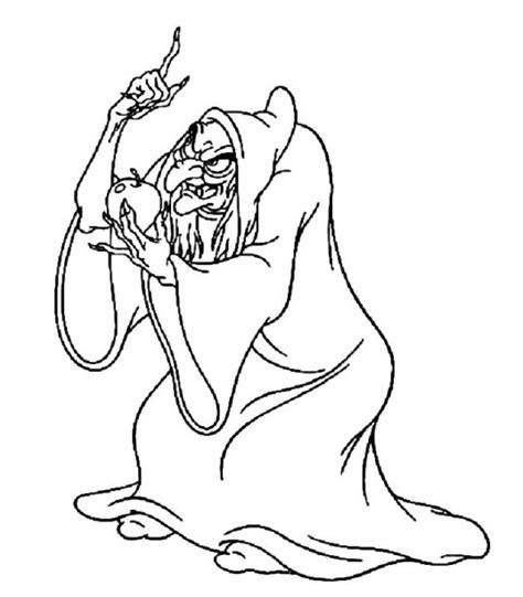 imagenes de brujas bonitas para dibujar dibujos disney para colorear bruja de blancanieves para