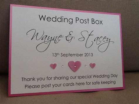Wedding Post Ideas by Wedding Post Box Sign Handmade By Sarahlindsaydesigns On