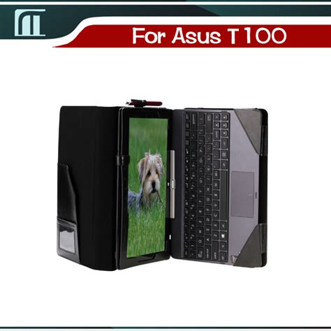 Asus Transformer T 100t stand pu leather keyboard for asus t100 t100t t100ta