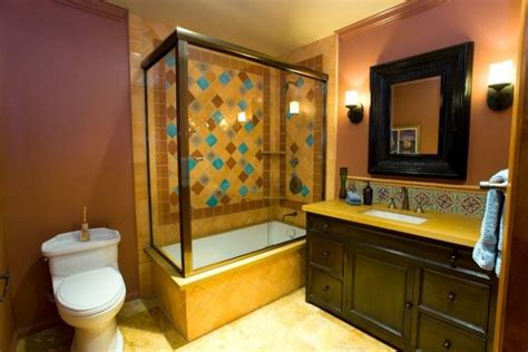 talavera bathroom talavera tile bathroom eclectic bathroom los angeles