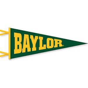 baylor school colors baylor 6 x 15 pennant baylor