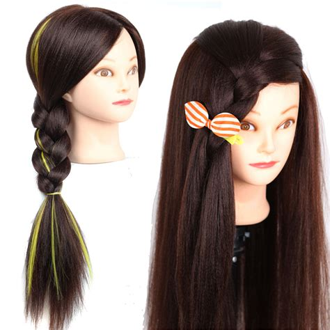 hair and makeup mannequin head 22 quot yaki cosmetology mannequin heads for hairdresser