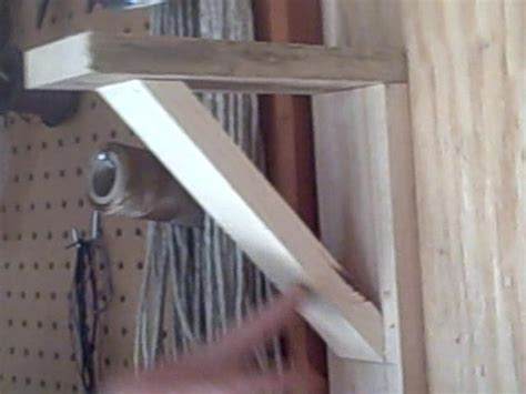Make Shelf Brackets by How To Make Simple Wood Shelf Brackets Woodworking
