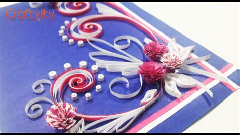 tutorial quilling en vidéo diy paper quilling cards tutorial how to make paper