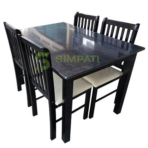 Kursi Makan Aluminium meja makan kursi makan dining table meja makan minimalis
