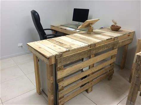 pallet office furniture diy diy pallet furniture
