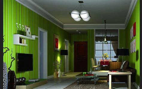 desain interior rumah nuansa hijau beberapa pilihan warna cat ruang keluarga dan karakternya