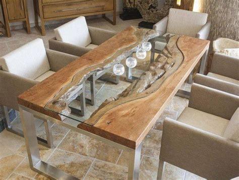 custom esszimmer tische die besten 25 wood slab dining table ideen auf
