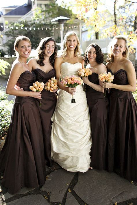 25 best ideas about brown bridesmaid dresses on brown wedding themes taupe wedding