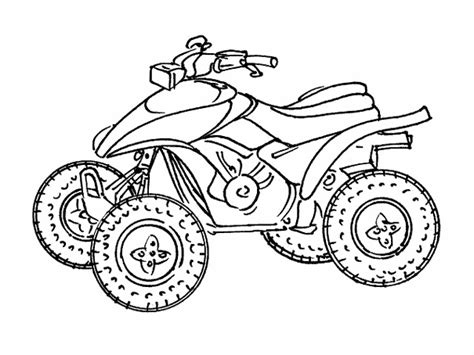 printable quad coloring pages free quad coloring pages