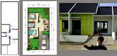 desain rumah minimalis type 3672