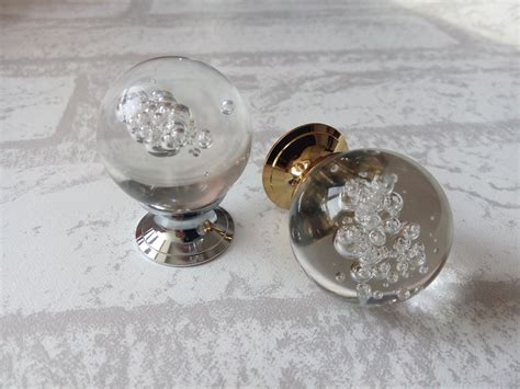 Drawer Pulls Glass by Glass Knobs Knob Drawer Knobs Dresser Pulls