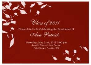exles graduation invitation announcement word template gi 1064