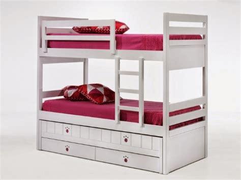 camas triplesamueblar  dormitorio  tres