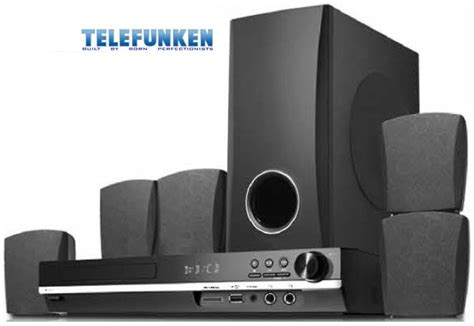 home theatre systems telefunken 5 1 home theatre system