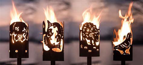 Jm Feuer by Jm Feuer Metallmanufaktur Gartenfackeln Und Feuerstellen