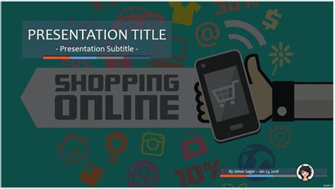 ppt templates for online shopping free download free shopping online ppt 71101 sagefox powerpoint
