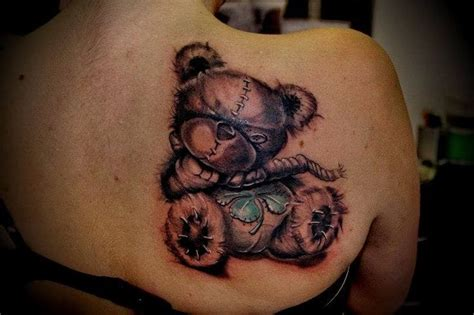 teddy bears tattoos designs teddy creativefan