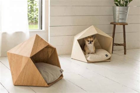 pet house design pet s wood bed designed in pentagonal form vuing com