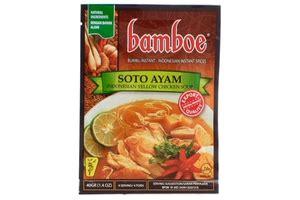 Bumbu Bamboe Soto Ayam bamboe bumbu soto ayam yellow chicken soup seasoning 1