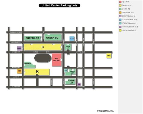 united center chicago map united center chicago il seating chart view