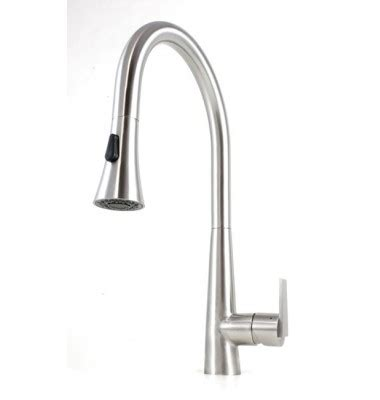 single handle kitchen faucet kf 500 strictly sinks eclipse style solid stainless steel lead free single