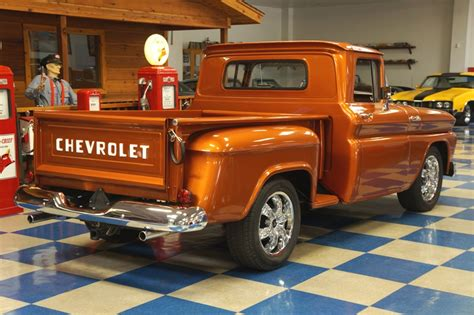 Burnt Orange Ls by 1962 Chevrolet C10 Stepside Burnt Orange A E