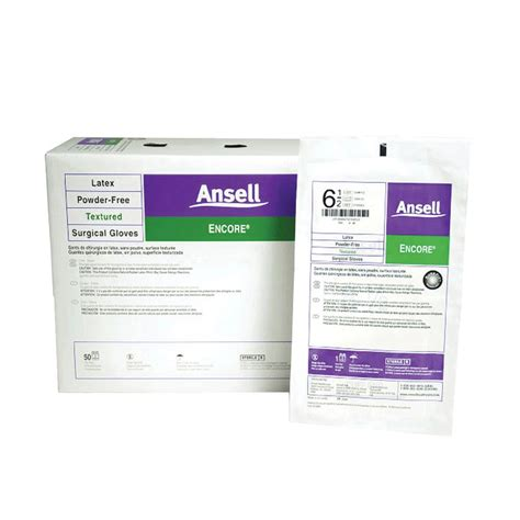 ansell encore sterile powder free ansell encore powder free sterile surgical gloves