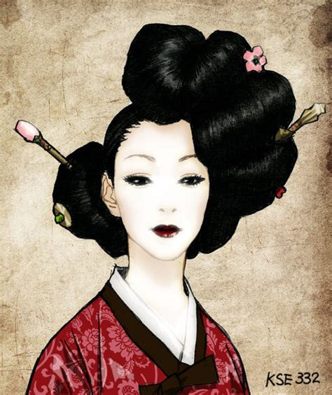 Japanese Artists Give Sony Products A Pretty Of Paint by Korean Geisha Gisaeng Geishas