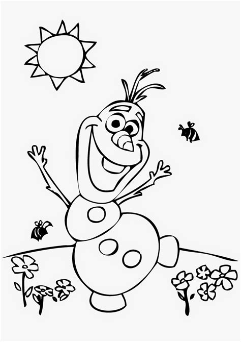 8 great olaf coloring pages frozen instant knowledge