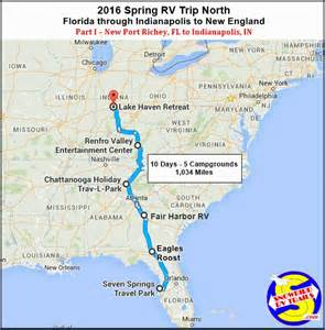 map i 75 florida 28 best images about snowbird rv route maps on