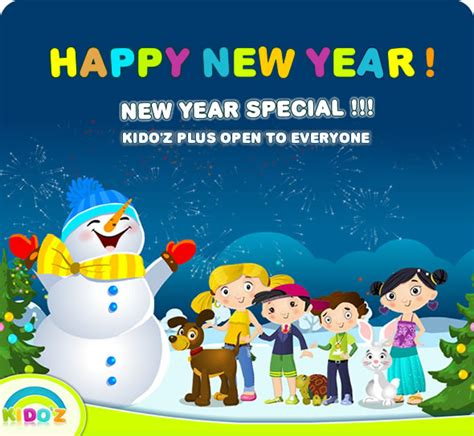 new year card new year kids card happy new wishes by kids