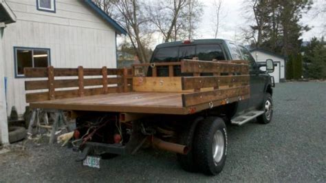 wood truck bed plans wood flatbed plans pdf woodworking