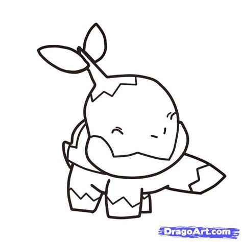 pokemon coloring pages turtwig how to draw turtwig pokemon step by step pokemon