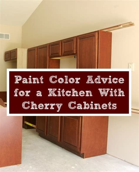 Kitchen Paint Colors With Cherry Cabinets Paint Color Advice For A Kitchen With Cherry Cabinets Thriftyfun