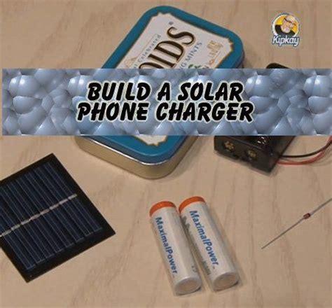 diy solar phone charger build a solar phone charger diy electronics pinterest