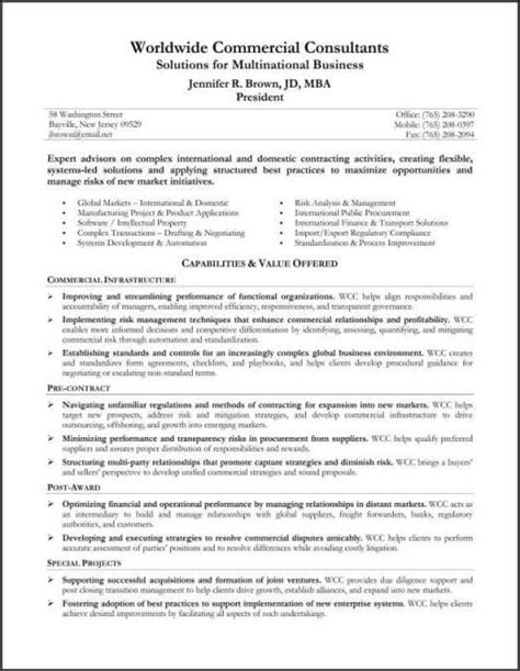 Sample Resume Profile Summary resume example capabilities summary