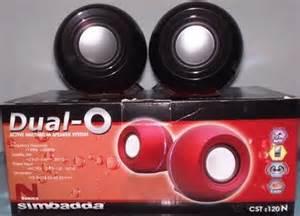 Speaker Simbadda Mini Dual O speaker simbadda phyton computer